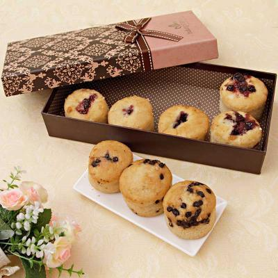 Assorted sugarfree muffins in a gift box giftsend gourmet gifts assorted sugarfree muffins in a gift box negle Choice Image