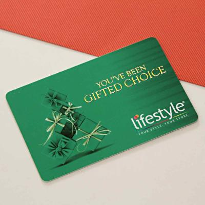 Lifestyle Gift Voucher Worth Rs. 1000
