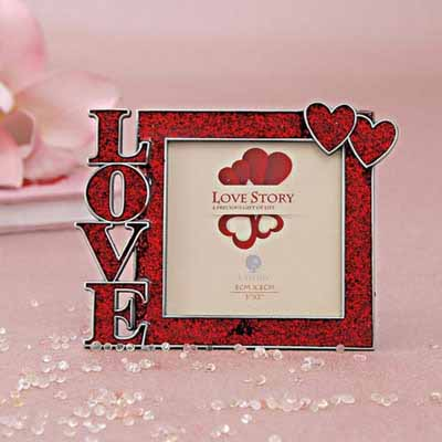 LOVE Theme Metal Photo Frame At Rs475