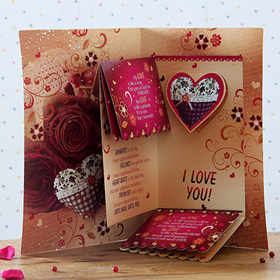love you forever greeting card
