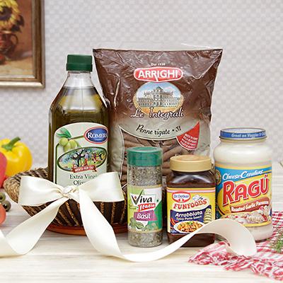 Easter gifts online buy send easter baskets presents for kids pasta olive oil hamper with pasta sauce dressing in negle Images