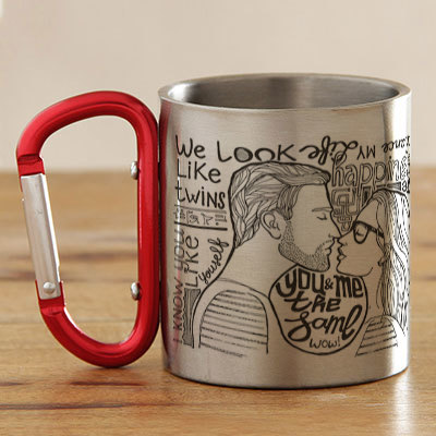 Personalized gifts customized gifts send personalised gifts to romantic personalized steel mug negle Gallery
