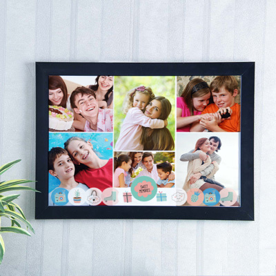Send personalised gifts to delhi online personalized gifts delivery sweet memories personalized a3 photo frame negle Image collections