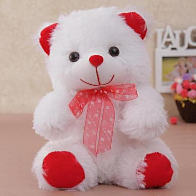 White red teddy bear for your loved one giftsend toys and white red teddy bear for your loved one voltagebd Image collections