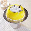 1 Kg Dome Shaped Pineapple Cake