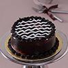 1 Kg Round Dark Chocolate Cake