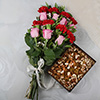 15 Mix Flowers with Assorted Dry Fruits