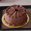 2 Kg Round Chocolate Cake with Chocolate Frosting