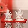 30 Gms Silver Laxmi Ganesha Idol