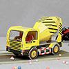 35 Pieces Assemble Mixer Truck Toy
