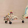 358 Pcs Apache Helicopter Construction Set