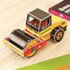 3D Assemble Pressure Bus Toy for Boys