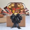 4 Bravo Wafer Bars & Cherir 12 pcs Crispy Chocolates Hamper