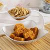 500g Besan Barfi & 200g Sev Bhujia With Ceramic Serving Platter