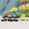 6 In 1 Die-cast Toy Vehicles & Blaster Gun For Boys