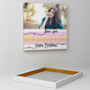 A Million Hearts Personalized Birthday Canvas