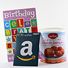 Amazon $25 Gift Card with Soan Cake - 250 gm