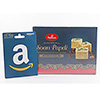 Amazon $25 Gift Card with Soan Papdi - 250 gm