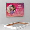 Angel of my Life Personalized Birthday Canvas