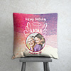 Angel of my Life Personalized Birthday Cushion