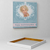 Angels and Miracles Personalized Anniversary Canvas