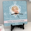 Angels and Miracles Personalized Anniversary Clock