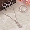 Antique Fashion Pendant Set with a Ring