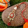 Antique Metallic Lumba for Bhabhi