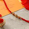 Antique & Wooden Beads Rakhi