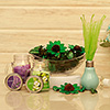 Artificial Potpourri with Scented Candles & Diffuser