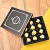 Assorted Chocolate Truffles in a Gift Box
