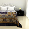 Attractive Double Bed Quilt in Black