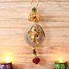 Attractive Golden Metallic Ganesha Hanging