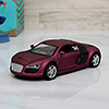Audi Toy Car in Purple