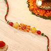 Auspicious OM Beads Rakhi
