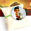 Bal Ganesha Badge Kids Rakhi