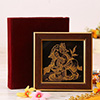 Bal Ganesha Wall Art in 22 Carat Gold