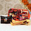 Bal Krishna Kids Rakhi With Spiderman Lunch Box & Chocolates