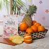 Basket of 2 Kg Mixed Fruits with Greeting Card For Mother