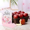 Basket of Apples with Greeting Card For Mother