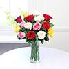 Basket of Assorted Roses