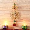 Beautful Metallic Ganesha Hanging