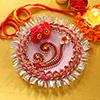 Beautiful Bhaidooj Tikka Thali