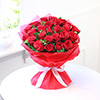 Beautiful Bunch of 25 Red Roses