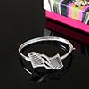 Beautiful CZ Stone Studded 92.5 Sterling Silver Bracelet