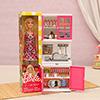 Beautiful Doll & Modern Kitchen Set for Girls