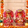 Beautiful Laxmi Ganesha Set