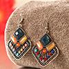 Beautiful Multi colored stone earrings