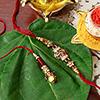 Beautiful Premium Bhaiya Bhabhi Rakhi