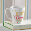 Best Dad Ever Personalized Conical Mug